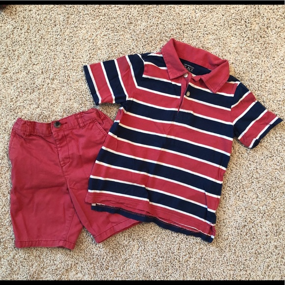 Children's Place Other - Boys summer outfit shorts & shirt